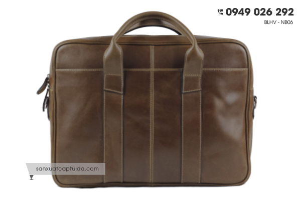 Sản xuất cặp túi da làm quà tặng theo yêu cầu của khách hàng