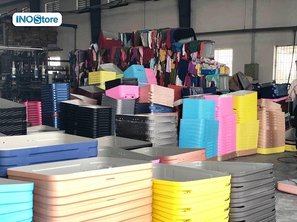 Xưởng sản xuất vali nhựa, vali kéo số lượng lớn, in logo theo yêu cầu làm quà tặng